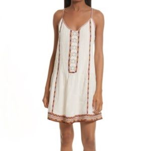 Final Price! Joie Horlane Embroidered Dress - NWT